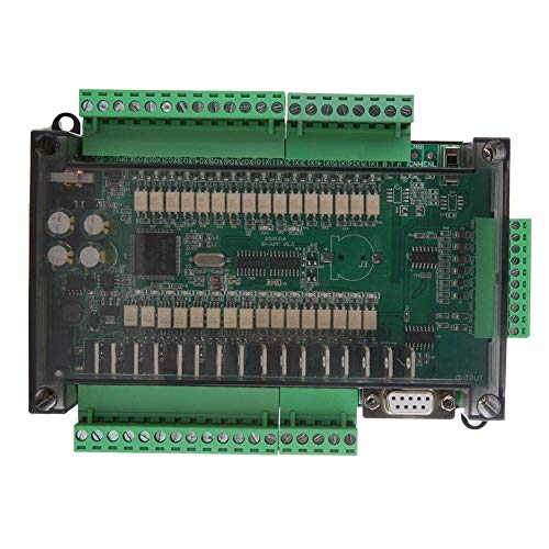 YASEKING Industrial Control Board,Stable Mini Industrial Control Board FX3U-32MT Highspeed 16 Input 16 Output 24V 1A for Industrial Automation Control Applications