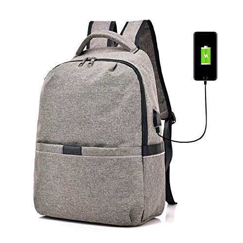 Amazing Unisex-USB-Lade Headset Computer-Rucksack Männliches Business Office Fitness-Reisen Multi-Funktions-Outdoor-Reitsport Studentenrat Schoolbag j0820 (Color : 2)