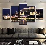 Fxirza Tapete Wandbild Modulare Kunst Leinwand Wand Poster