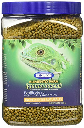 Red Kite Alimento Iguana Juvenil, 700 g, 1 Count
