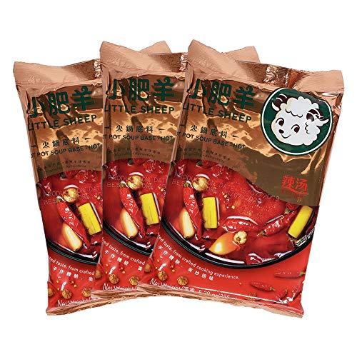 小肥羊鍋の素辣湯【3袋セット】 しゃおふぇやん 火鍋 辛味 中華調味料 鍋料理 235g×3
