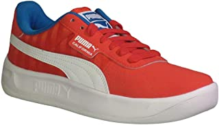 PUMA Women's California Retro Fashion Sneakers High Risk Red/Indigo Bunting