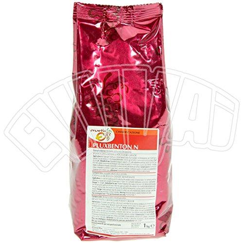 Pluxbenton 1kg Bentonit, Schönungsmittel für Wein, Weinherstellung