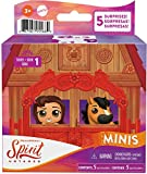 Mattel Spirit Untamed Surprise Mini Horse & Friend with 3 Accessories, Blind Box, Range of Horses & Characters, Makes a Great Gift for Ages 3 Years Old & Up [Styles May Vary]