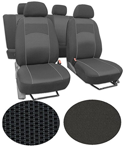 EJP Sitzbezüge für FIAT Scudo 8-Sitze (ab 2012) Super Qualität, Extra Langlebig im Design VIP-2