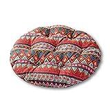 NO LOGO LIU-Suun-YD Sitzkissen, elastisch, weich, rund, Japanisches Kissen, bequem, für Barstuhl,...