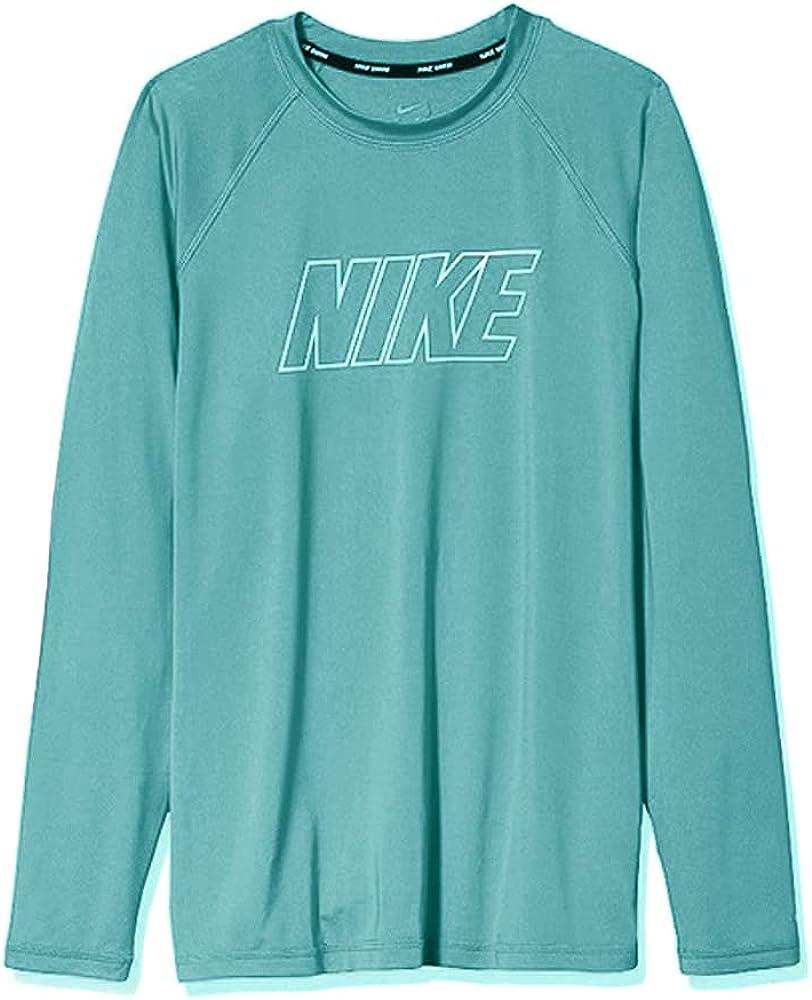Nike Women's Inventory cleanup selling sale UPF 40+ Long Swim Sleeve Tee Rashguard Super sale