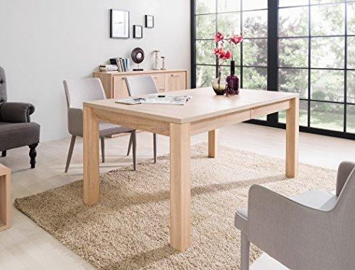 expendio Esstisch Siegmund Eiche Sonoma 160(200/240) x90x76 cm Auszugstisch Tisch Esszimmertisch Speisetisch Küchentisch Tisch
