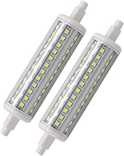 Bqhy R7S LED Bulb Replacement J118 Halogen, 8 Watts Double Ended LED R7S Light J-Type T3 Floodlight (2pack, 8W 118mm Daylight)