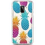 Robinsoni Cover Compatibile con Samsung Galaxy A8 Plus 2018 Cover Silicone Colorate Clear ...