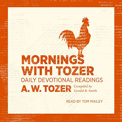 Mornings with Tozer cover art