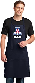 Broad Bay University of Arizona Dad Apron Large Size Top Arizona Wildcats Dad Gift Him