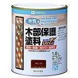 カンペハピオ 水性木部保護塗料 オリーブ 1.6L