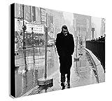 Kunstdruck auf Leinwand, gerahmt, Motiv James Dean In Times