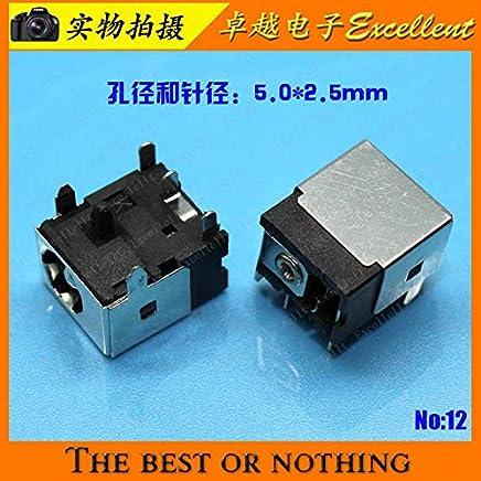 Computer Cables Yoton DC Power Jack for ASUS N20A F5R F5M F5N F5RL F5SL F5V F5VL MIS U100 U120 U130 X51 X51H X51L X51R X51RL X53S - (Cable Length: 1pcs)