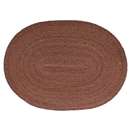 Placemat Oval Brown