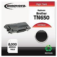 ivrtn650tn650互換、再生、tn650レーザートナー8000ページ印刷可、ブラック