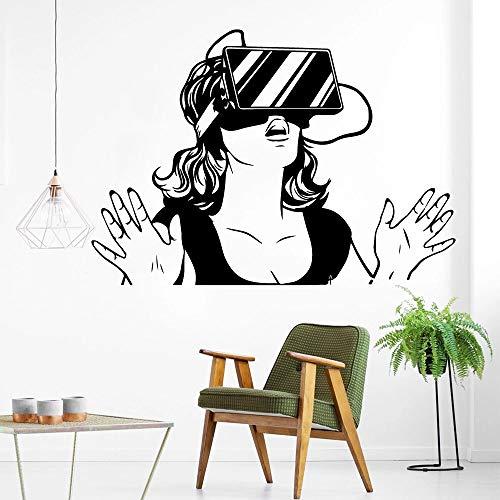 Material vendedor caliente de la etiqueta de la pared del arte de la pared de la realidad virtual estrella de cine de Hollywood de la sala de estar