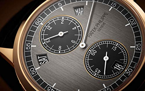 Patek Philippe Complications Rose Gold 5235-50R-001 with Two-Tone Graphite and Ebony Black dial