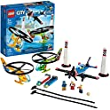 LEGO City Air Race 60260 Flying Helicopter & Airplane Toy