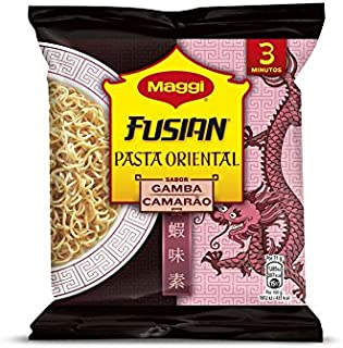 Maggi Fusian Pasta Oriental Noodles Sabor Gamba - Fideos Orientales - Bolsa de 71 g (1 ración)