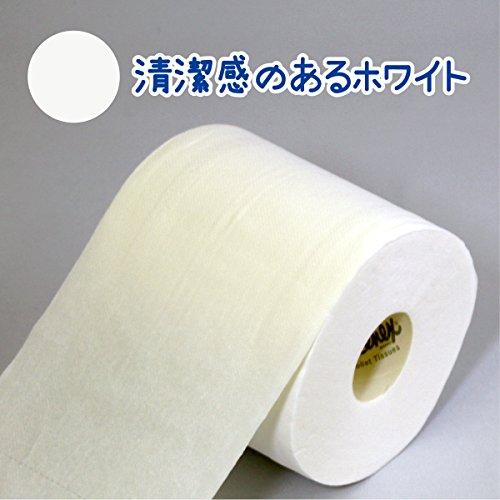 日本製紙 クレシア クリネックスソフティ W ホワイト 4ロール [1608]
