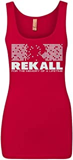 Rekall -Total Recall Movie Graphic Women's Tank Top