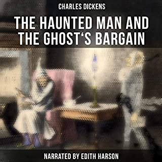 The Haunted Man and the Ghost's Bargain audiobook cover art