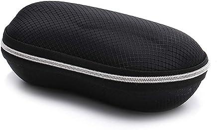 AMOFINY Fashion Glasses HINDFIEL New Round Fashion Zipper crush resistance Anti Peanut Sunglasses Box