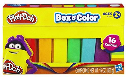 Refil de Massinha Play-Doh 16 Cores Hasbro
