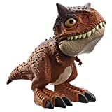 Jurassic World Chompin' Carnotaurus Toro Dinosaur Action Figure Camp Cretaceous with Button-Activated Chomping & Other Motions, Realistic Sculpting, Kid Gift Age 4 Years & Up