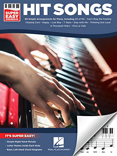 Hit Songs Super Easy Songbook Piano B