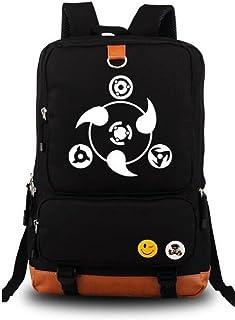 Siawasey Japanese Anime Cosplay Luminous Laptop Daypack Backpack Shoulder Bag School Bag
