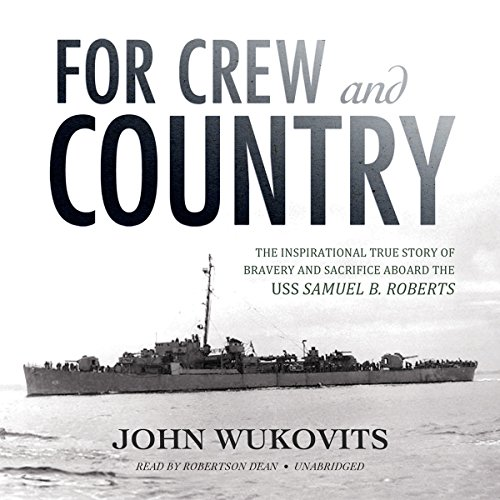 For Crew and Country audiobook cover art
