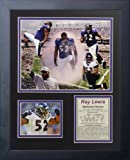 Ray Lewis - Collage 11' x 14' Framed Photo Collage by Legends Never Die, Inc.
