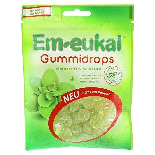 Em-eukal Gummidrops Eukalyptus-Menthol 90 g