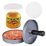 GWHOLE Non-Stick Burger Press Aluminum...