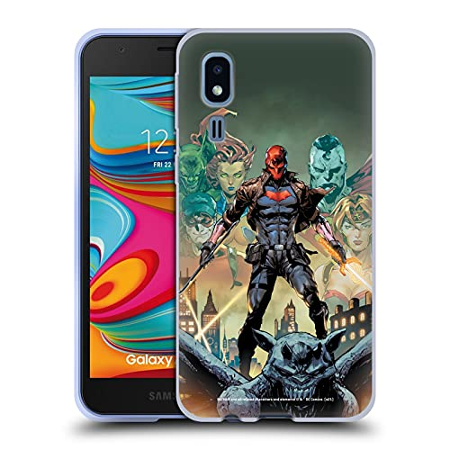 Head Case Designs sous Licence Officielle Batman DC Comics Et Les Hors-la-Loi # 50 Red Hood Coque en Gel Doux Compatible avec Samsung Galaxy A2 Core (2019)
