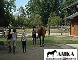 AMKA Pferdedecke Regendecke Outdoordecke 600D wasserdicht atmungsaktiv