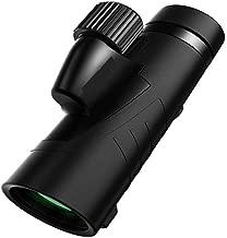 Carl Artbay Monocular, 8x42 Handheld BAK4 Portable Waterproof HD Telescope, HD Fixed Magnification, Adult Room Exterior Bird, Landscape, Concert, Adventure 8X (Black & White)