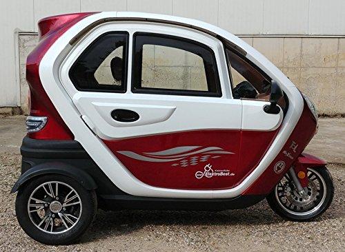 Scooter Elektroauto Kabinenroller E-Mobil mit Dach Bild 2*