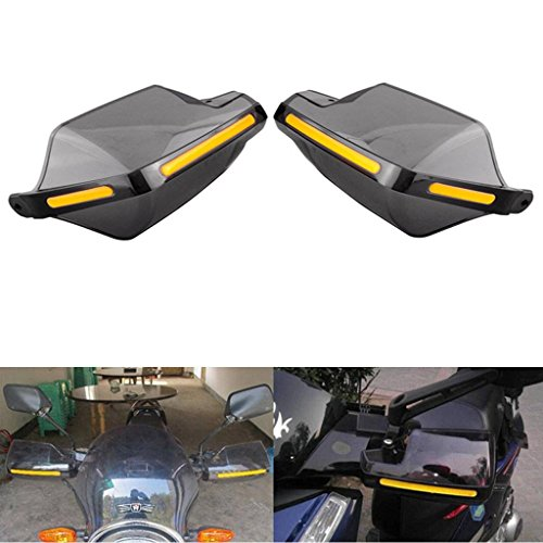 Hanperal 1Pair Motorcycle Hand Guards 7/8