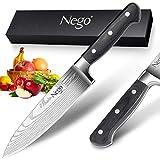 Sashimi Sushi Knife- Nego Yanagiba Knife 8.5 Inch Sharp...