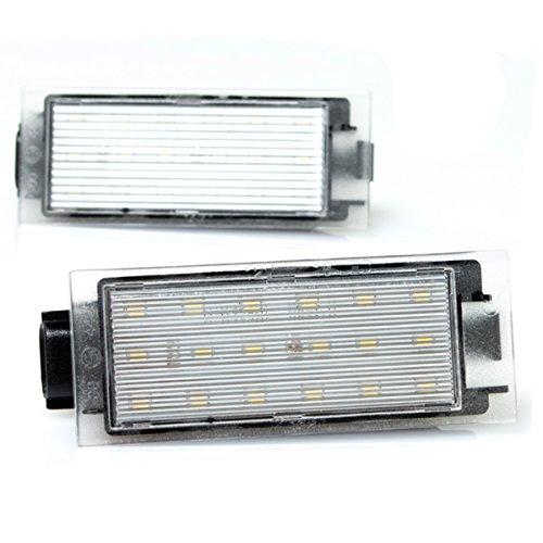 LED Kennzeichenbeleuchtung PLUG&PLAY Canbus ohne Fehlermeldung mit Zulassung V-032401