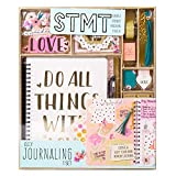 CREATE & DECORATE: Customize a 70-sheet spiral journal to include all our thoughts, expressions and memories. EMBELLISH EACH PAGE TO BE UNIQUELY YOURS: Use the included stickers, gems, glitter frames and more to create a stylish and trendy keepsake! ...