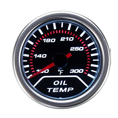 YALIXING Estéreo de Coches 52 mm 2 Pulgadas Universal Coche Lente de Humo LED Puntero Agua Agua Temperatura Temp Temper Meuger Medidor Proporcionarle una Experiencia de conducción más c