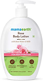 Mamaearth Rose Body Lotion with Rose Water and Milk For Deep Hydration - 400ml