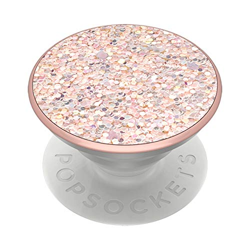 PopSockets: PopGrip with Swappable Top for Phones & Tablets - Sparkle Rose