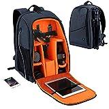 Custodie per Fotocamere 15.6 inch Laptop Travel Bag Pouch Bag con Lo Zaino Fotografia Sacchetto Impermeabile USB Jack Cuffie Telecamera Portatile Adatto alla conservazione di telecamere
