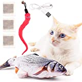 Floppy Fish Cat Toy Pack - Electric Dancing Fish Kicker Interactive Flopping Moving Fish Cat Toy Cat Fish Toy Flopping Cat Toy Fish That Moves Cat Toy Fish Flopping Fish Cat Toy That Moves Wiggle